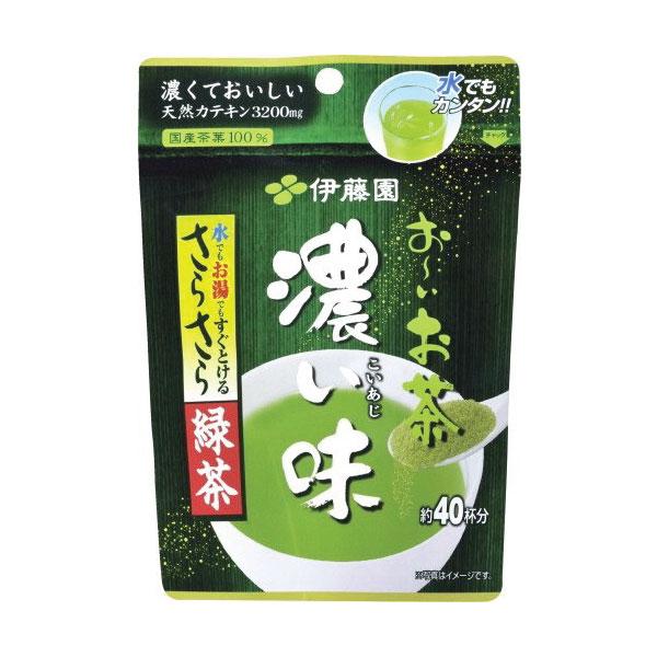 ชาเขียวญี่ปุ่น ITOEN ชนิดผงเข้มข้น ขนาด 32 กรัม ชงได้ 40 แก้ว