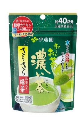 ชาเขียวญี่ปุ่น ITOEN อิโตะเอ็น ชนิดผงเข้มข้น ขนาด 32 กรัม ชงได้ 40 แก้ว