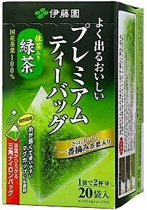 ITOEN GREEN TEA MATCHA RYOKUCHA ชาเขียวญี่ปุ่น แบบซองปิรามิด จำนวน 20 ซอง