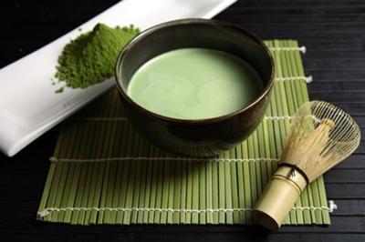 ไม้แปรงชงชาเขียว
