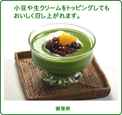 พุดดิ้งชาเขียวญี่ปุ่น
