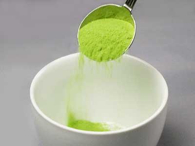 พุดดิ้งชาเขียว