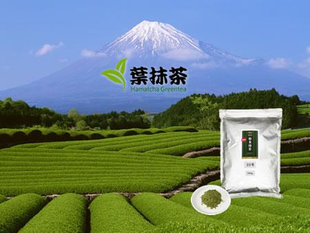 ผงชาเขียว ฮามัทฉะ ชาเขียวญี่ปุ่น 100%
